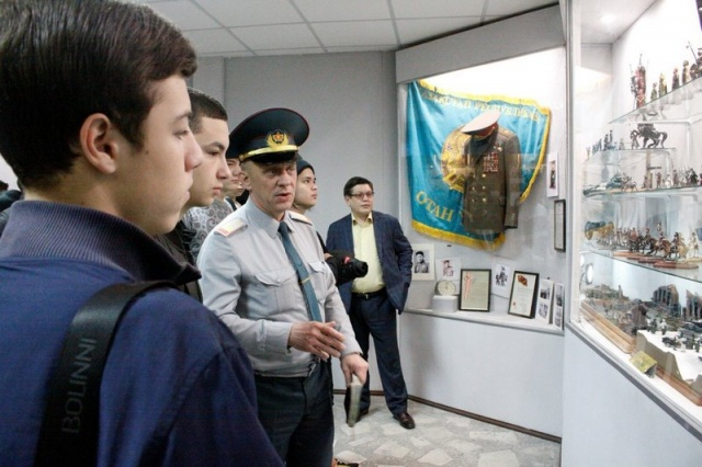 Посещение военно-исторического музея ВС РК