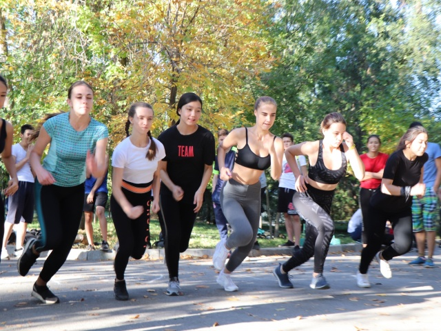24th sports festival among colleges in Almaty.